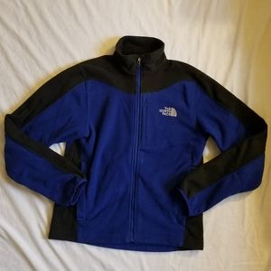 Mens Blue and Black The North Face Jacket